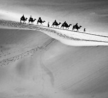 Dunes of Dunhuang by imagesbyjillian