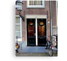 Doors of Europe-Amsterdam 3 Canvas Print