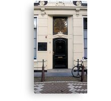 Doors of Europe-Amsterdam 4 Canvas Print