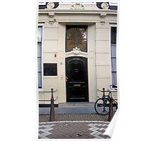 Doors of Europe-Amsterdam 4 Poster