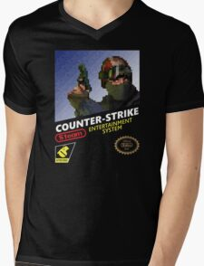 CS:GO Retro T-Shirt Mens V-Neck T-Shirt