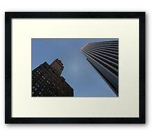 NYC Steel Giants Framed Print