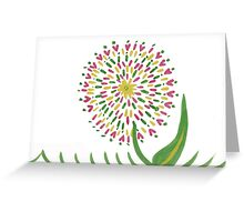 Dandilioned Greeting Card