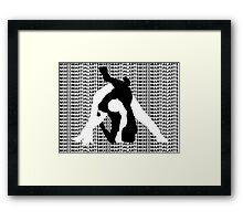 MMA MIXED MARTIAL ARTS TRIANGLE CHOKE 2 Framed Print