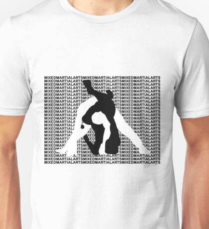 MMA MIXED MARTIAL ARTS TRIANGLE CHOKE 2 Unisex T-Shirt