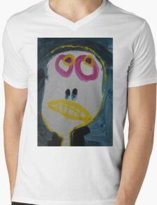 Elisabeth - Graphic Portrait In Acrylic Mens V-Neck T-Shirt