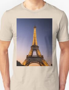Eiffel Tower and sunset (2) T-Shirt