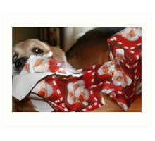 Our Automatic Unwrapper! Art Print