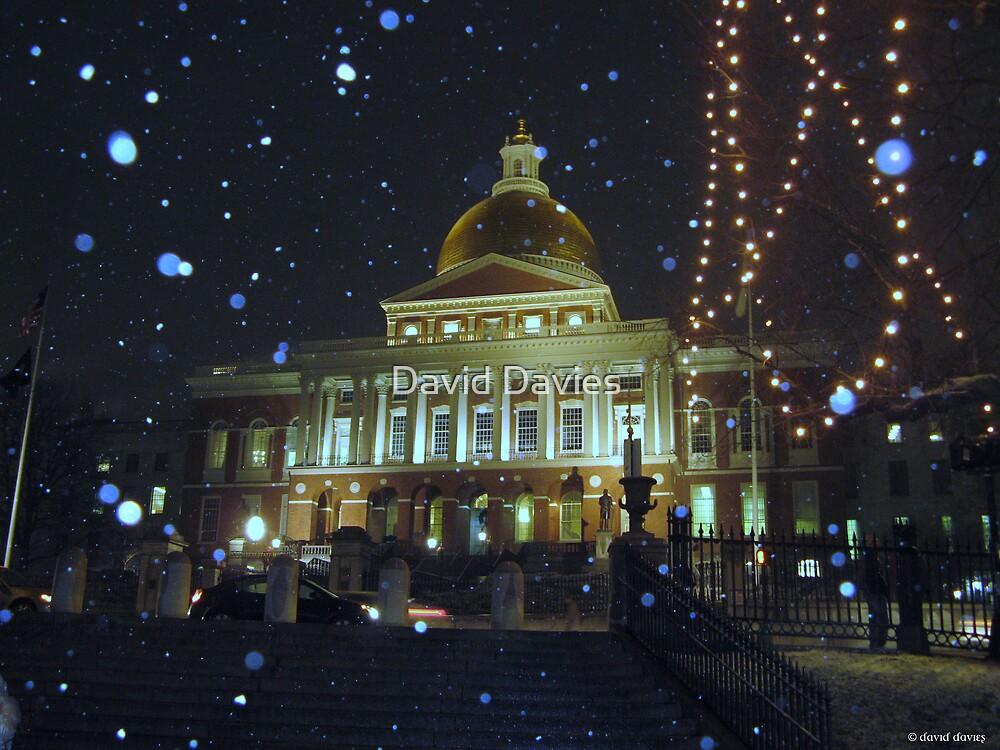 Massachusetts State House by David Davies