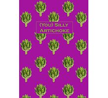 (You) Silly Artichoke Photographic Print