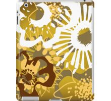 Warm Earth Floral Pattern Version 1 (see description) iPad Case/Skin