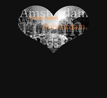 Amsterdam love Womens Fitted T-Shirt