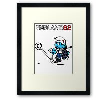 England World Cup 82 Framed Print