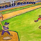Baseball Season by Monica Engeler