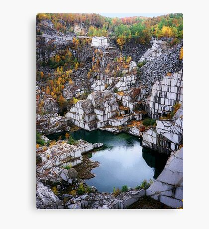 Down In The Quarry Canvas Print