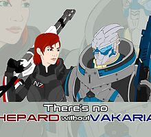 There's no Shepard without Vakarian by berabbit
