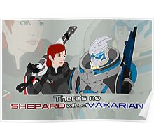 There's no Shepard without Vakarian Poster