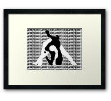 Triangle Choke MMA Mixed Martial Arts  Framed Print