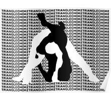 Triangle Choke MMA Mixed Martial Arts  Poster
