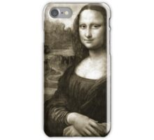 Dithering Mona Lisa iPhone Case/Skin