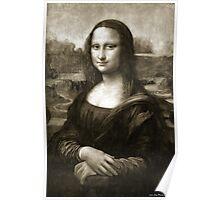 Dithering Mona Lisa Poster