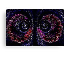 Curly wurly Canvas Print