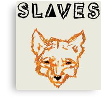 Slaves (US band) Fox Canvas Print