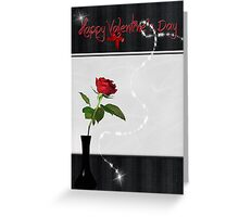 Valentine Rose Greeting Card