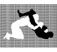 Triangle Choke 2 MMA Mixed Martial Arts  Photographic Print