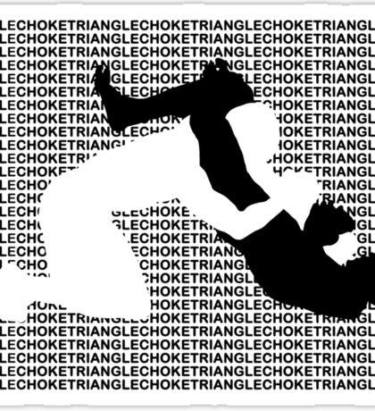 Triangle Choke 2 MMA Mixed Martial Arts  Sticker