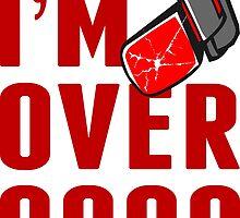 I'm Over 9000 Vegeta Tracker by Bamboer