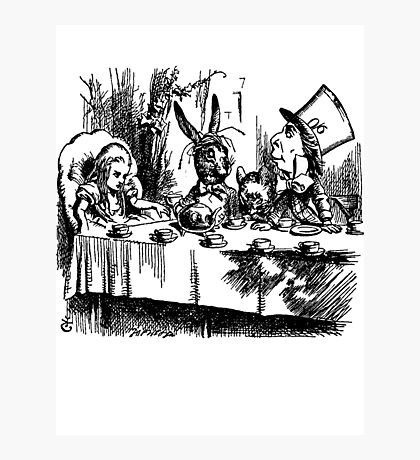 The Mad Hatter's Tea Party Photographic Print