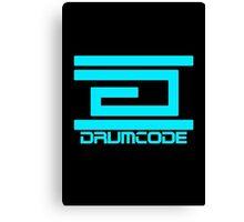 DrumCode Canvas Print