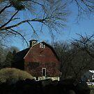 "Drive-by Shooting #6: Big Red Barn by Christine ""Xine"" Segalas"
