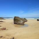Rocks - Tolsta Beach - Western Isles by MidnightMelody