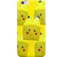 Origami Pikachu! iPhone Case/Skin