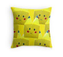 Origami Pikachu! Throw Pillow