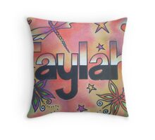 Taylah Personalised Picture Throw Pillow