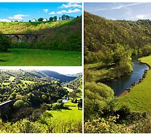 Views of Monsal Dale  by Elaine123