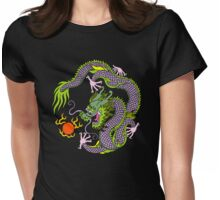 Chinese Dragon T Shirt Womens Fitted T-Shirt