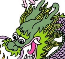 Chinese Dragon T Shirt Sticker