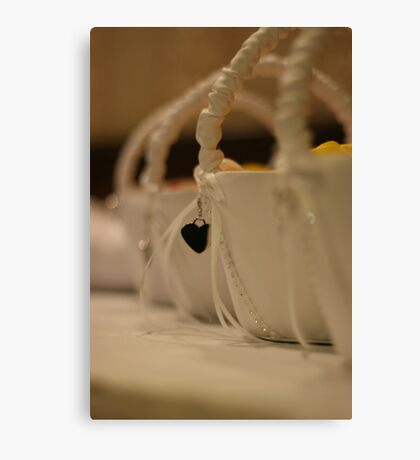 Wedding - Baskets Canvas Print