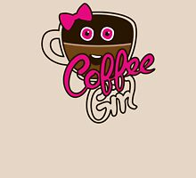 Cute Coffee GirlAddict Womens Fitted T-Shirt