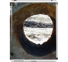 Rock tunnel in the park iPad Case/Skin