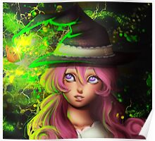 Lamp Witch Poster