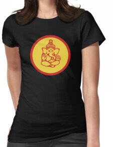 Hindu, Hinduism Ganesh T-Shirt Womens Fitted T-Shirt