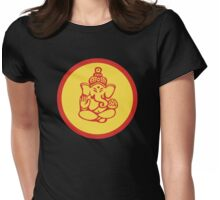 Hindu, Hinduism Ganesh T-Shirt Womens Fitted T-Shirt