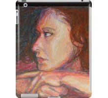 Self Portrait In Profile iPad Case/Skin