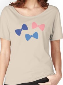 Vintage Pastel Bows Women's Relaxed Fit T-Shirt