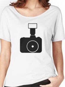 minimal photocam (plain) Women's Relaxed Fit T-Shirt